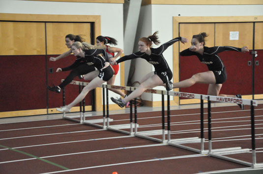 Women's Track and Field third at Centennials