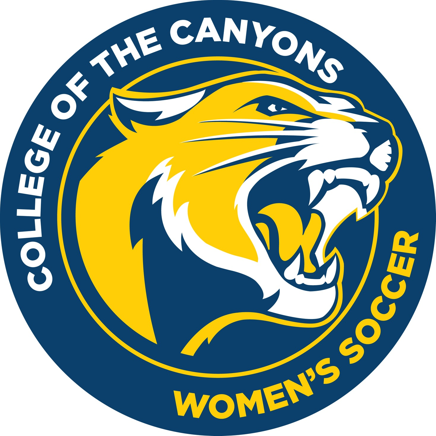 College of the Canyons women's soccer logo.