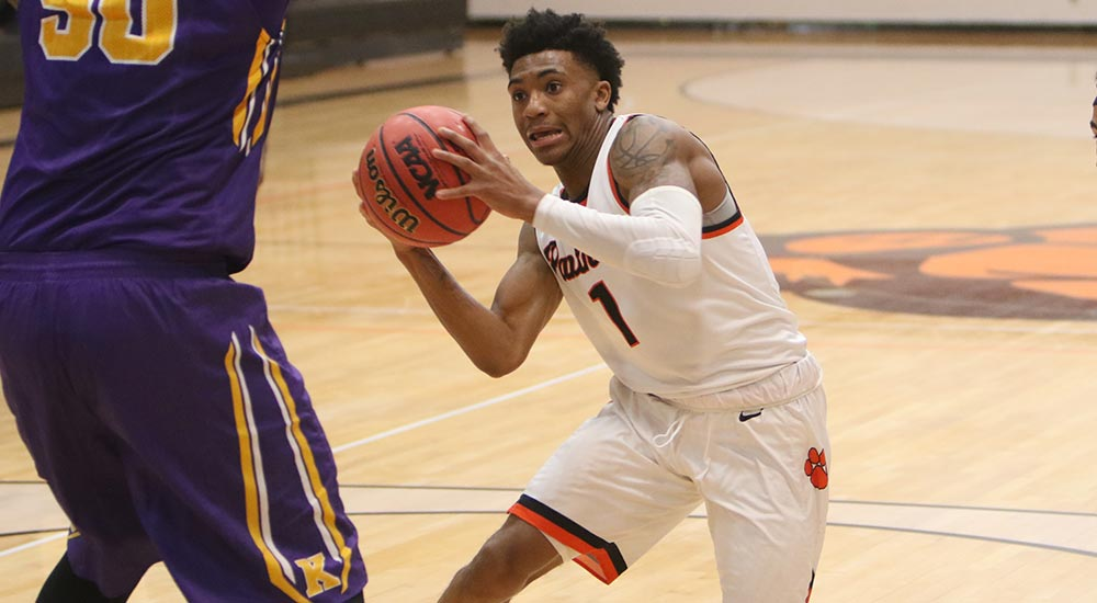 Men's basketball receives 33 points from Dix in loss to Redlands