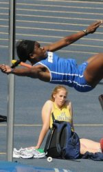 Ajoku Highlights Azusa Multi-Events in the Heptathlon