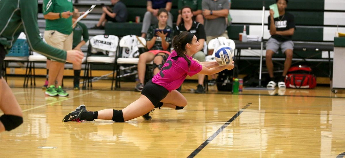 Women's Volleyball Pulls out 3-1 Win in Home Opener