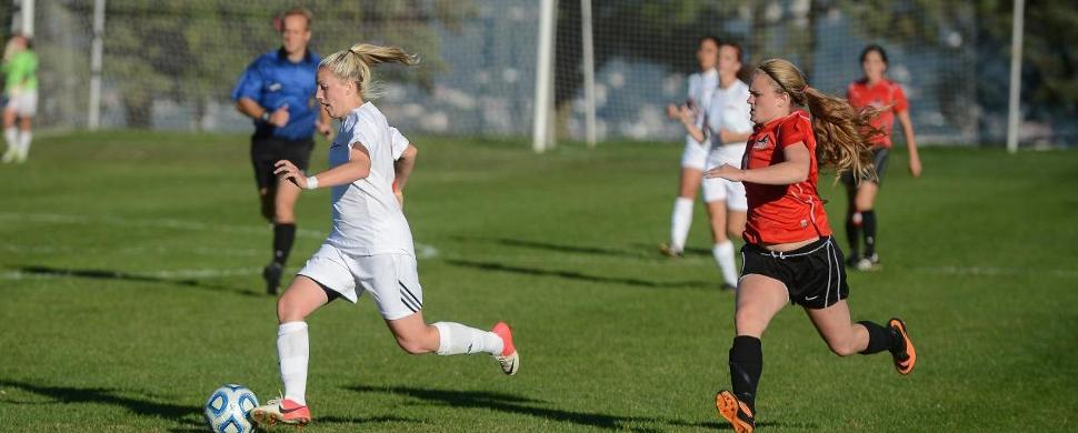 Losert's First Hat Trick Pushes Women's Soccer Past Wilmington University
