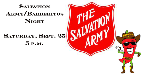 Salvation Army and Barberitos Team Together for Saturday's Soccer Game