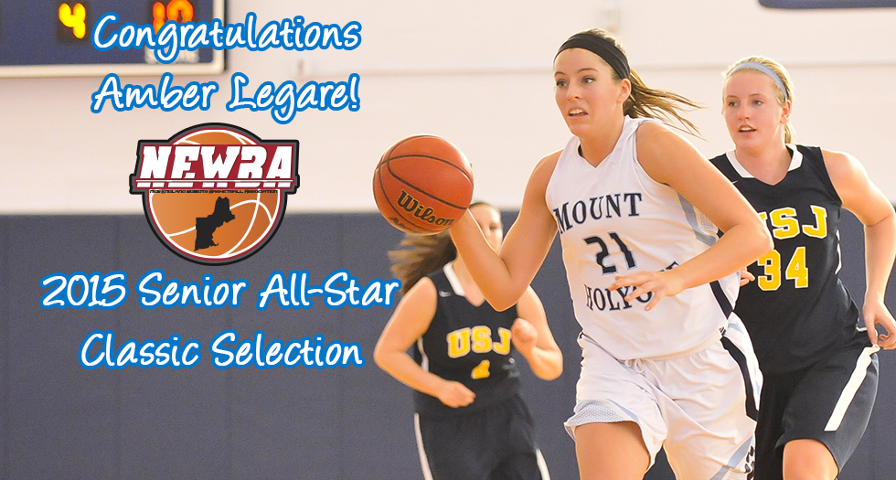 Legare Selected to Play in NEWBA Senior All-Star Classic