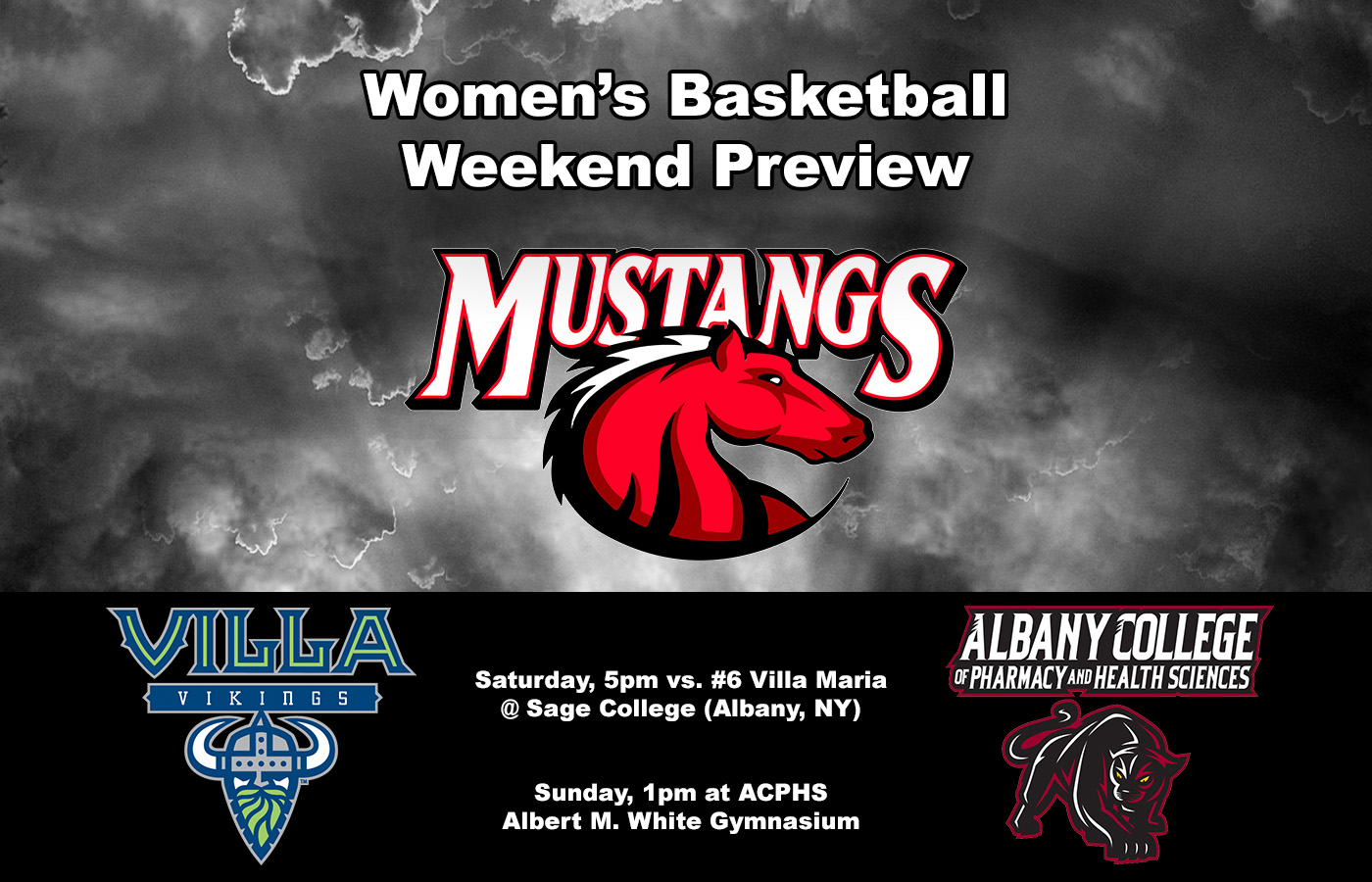 Women's Basketball heading to Albany, NY for weekend double-header