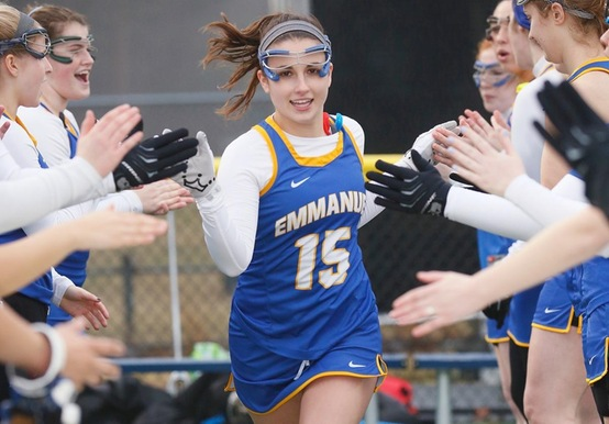 BAKER LIFTS WOMEN'S LACROSSE TO 17-14 WIN IN REGULAR SEASON FINALE VS SIMMONS
