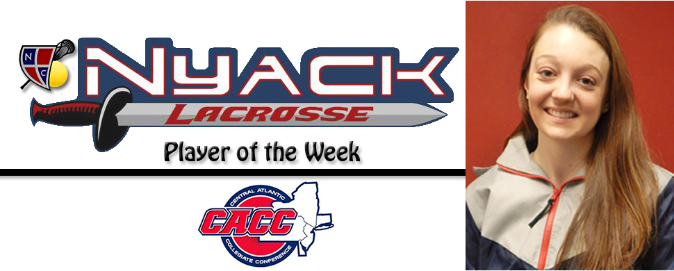 Lebo Named Lacrosse CACC Player of the Week