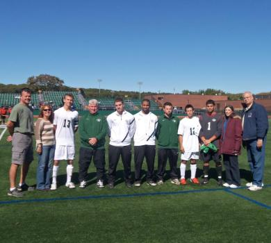 Rams Fall to NYU-Poly on Senior Day