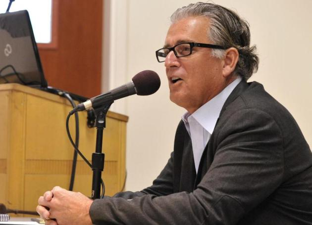 Bronco Baseball Alum, Fox Sports Rules Analyst Mike Pereira '73 Visits SCU, Gives Exclusive Interview