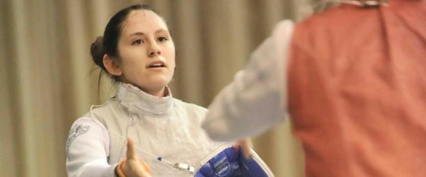Caroline Mattos '16 (Photo by Sportspix.biz/Jan Volk)