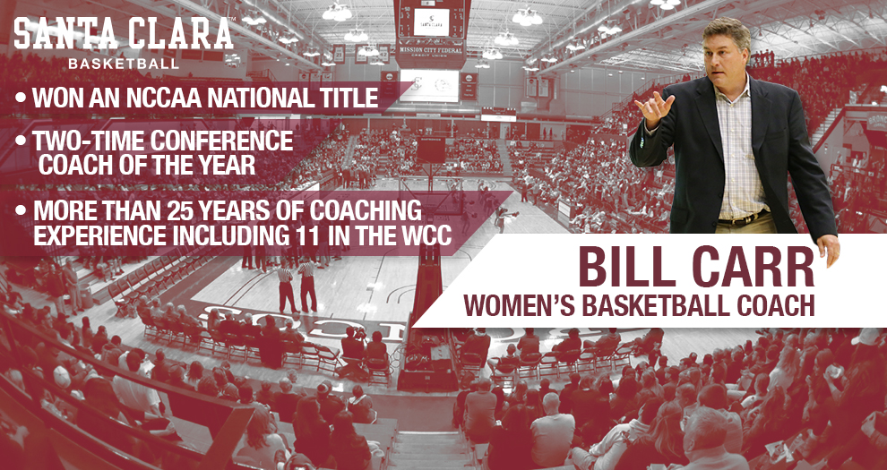 Carr to Head Women's Basketball Program