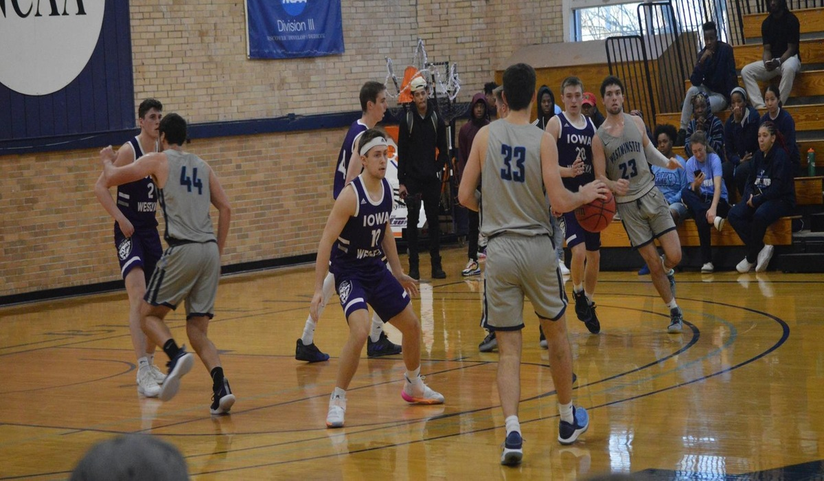 Westminster Men's Basketball Sees Winning Streak Snapped by Webster