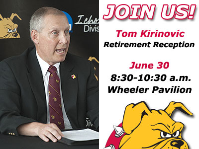 Retirement Reception Set For Tom Kirinovic