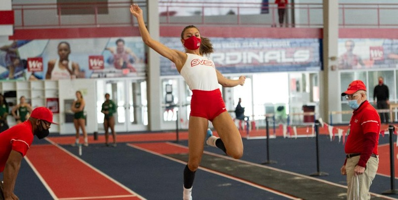 Williamson wins long jump title, Cardinals continue competition at NCAAs