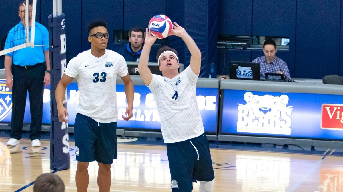 Men's Volleyball Tripped Up by Wilkes and Medaille