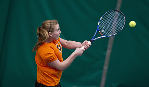 Women's Tennis Ends NWC Regular Season With 9-0 Win Over George Fox