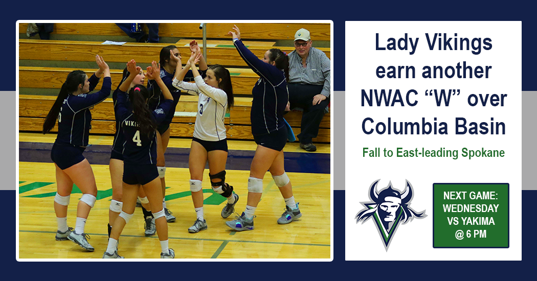 The Lady Vikings earned their fourth conference win of the season on Friday defeating Columbia Basin on the road. On Saturday, they fell to East Region-leading Spokane.