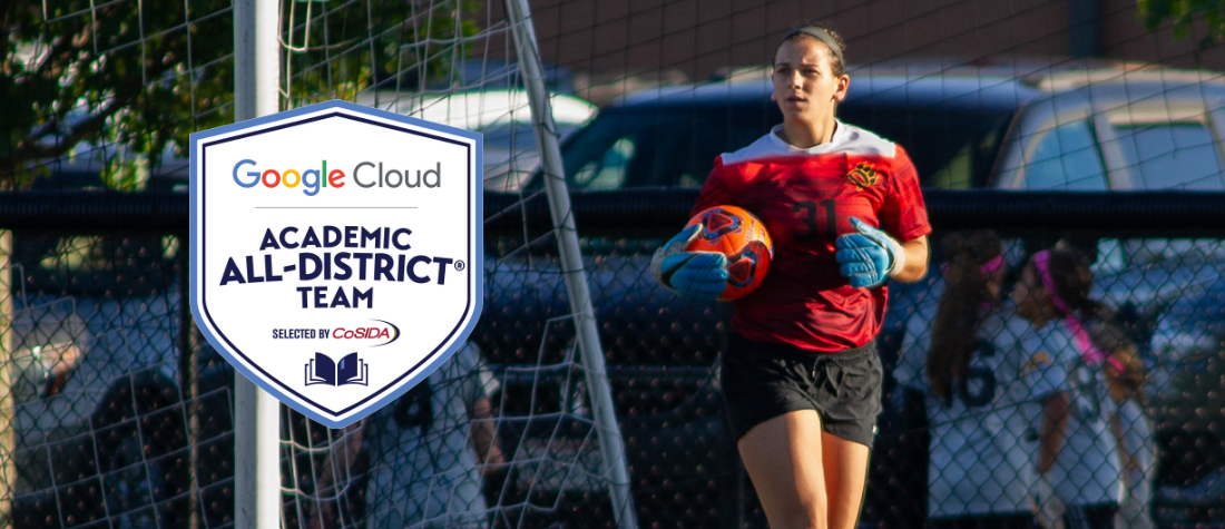 Wierzbicki Named to First Team Google Cloud Academic All-District by CoSIDA