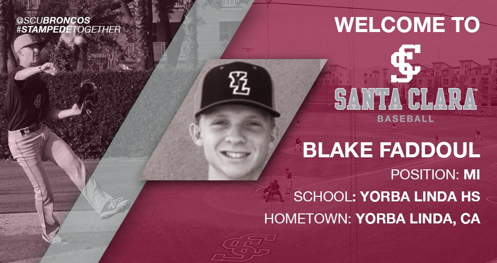 Meet the Future of Bronco Baseball – Blake Faddoul