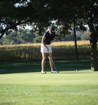 Women's golf team finishes in 2nd place at Heidelberg Invitational
