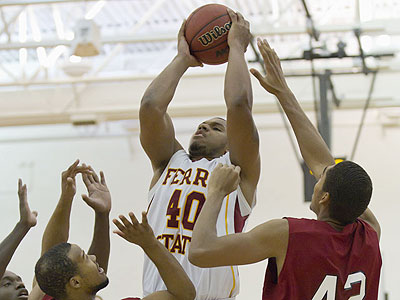FSU  senior Justin Keenan (pictured) joined senior guard Darien Gay in earning All-Classic honors