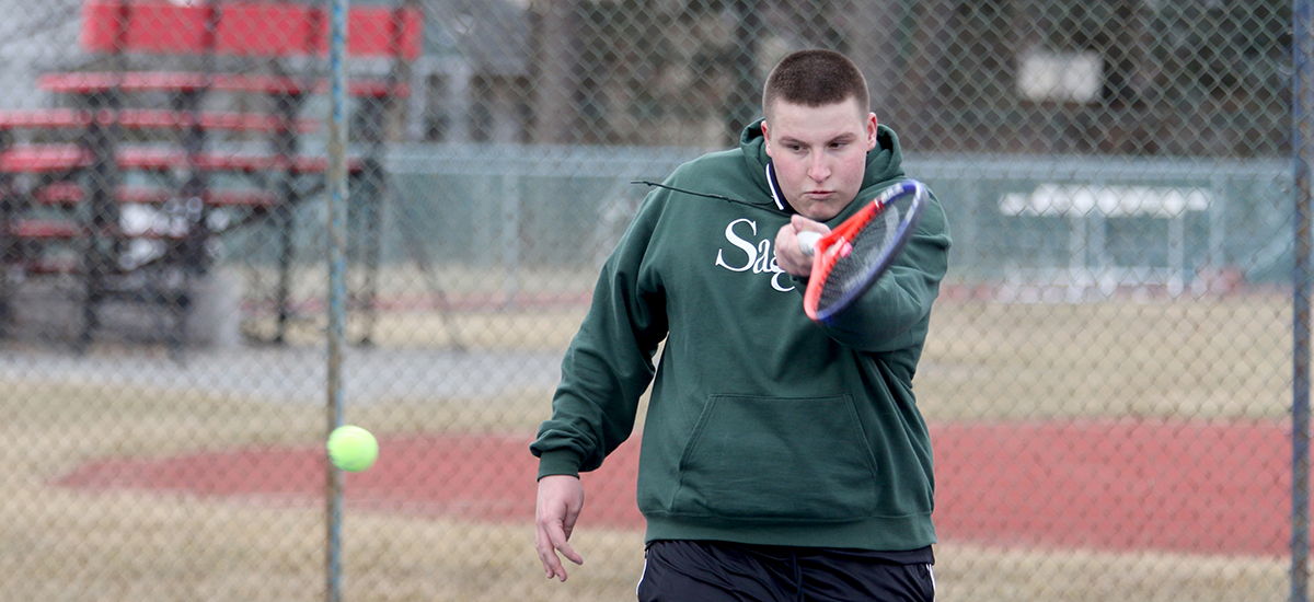 Men's tennis falls in Empire 8 play to Saxons