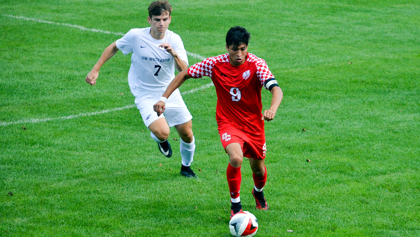 Men's soccer team falls to Wis.-Whitewater, 3-1