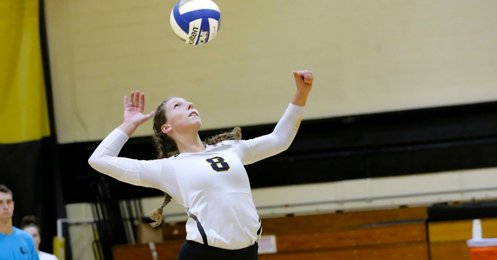 Women's Volleyball Sweeps Suffolk in Non-Conference Action