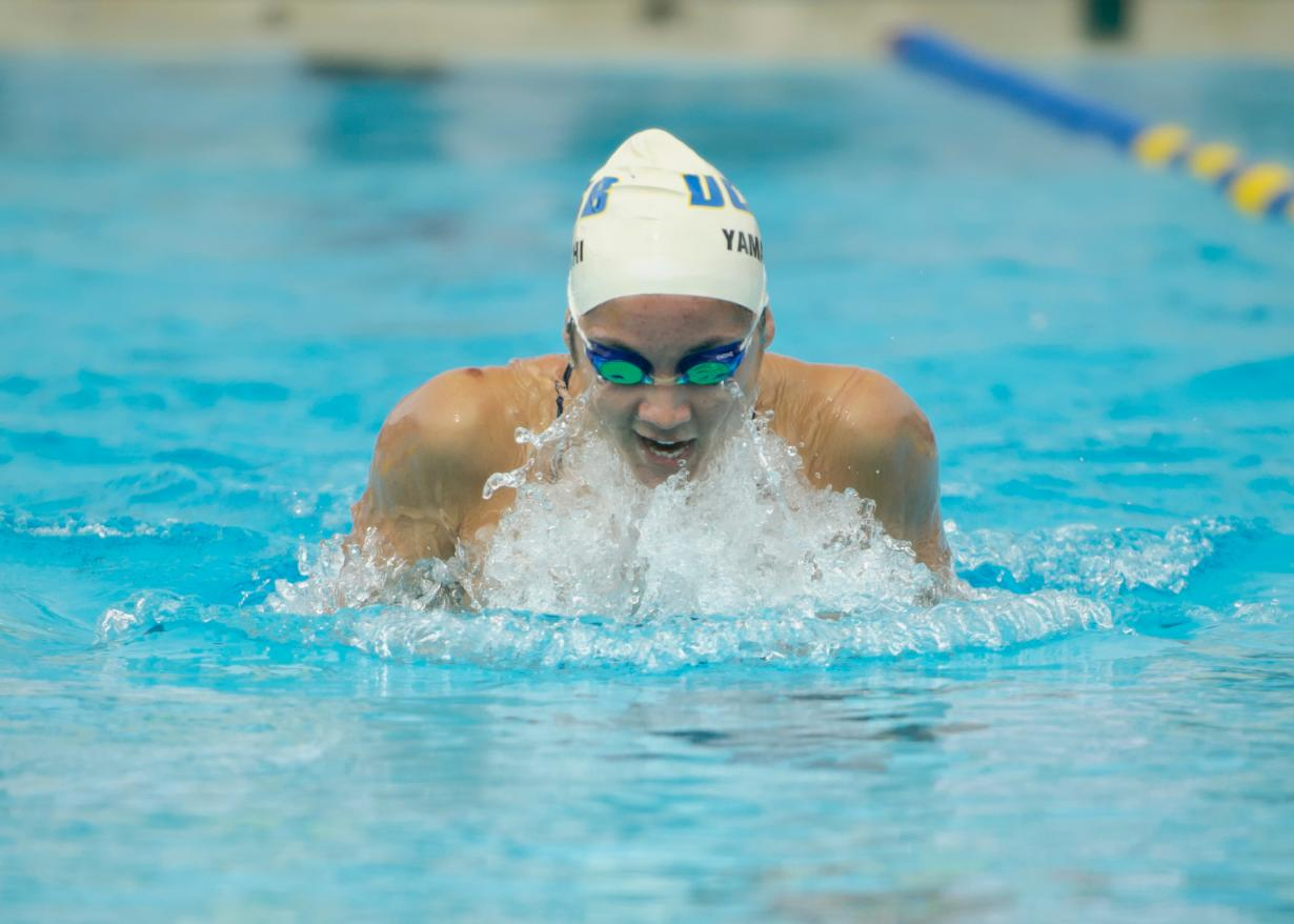 Ward Sets School Record in 100 Fly on Day Three of MPSF Championships