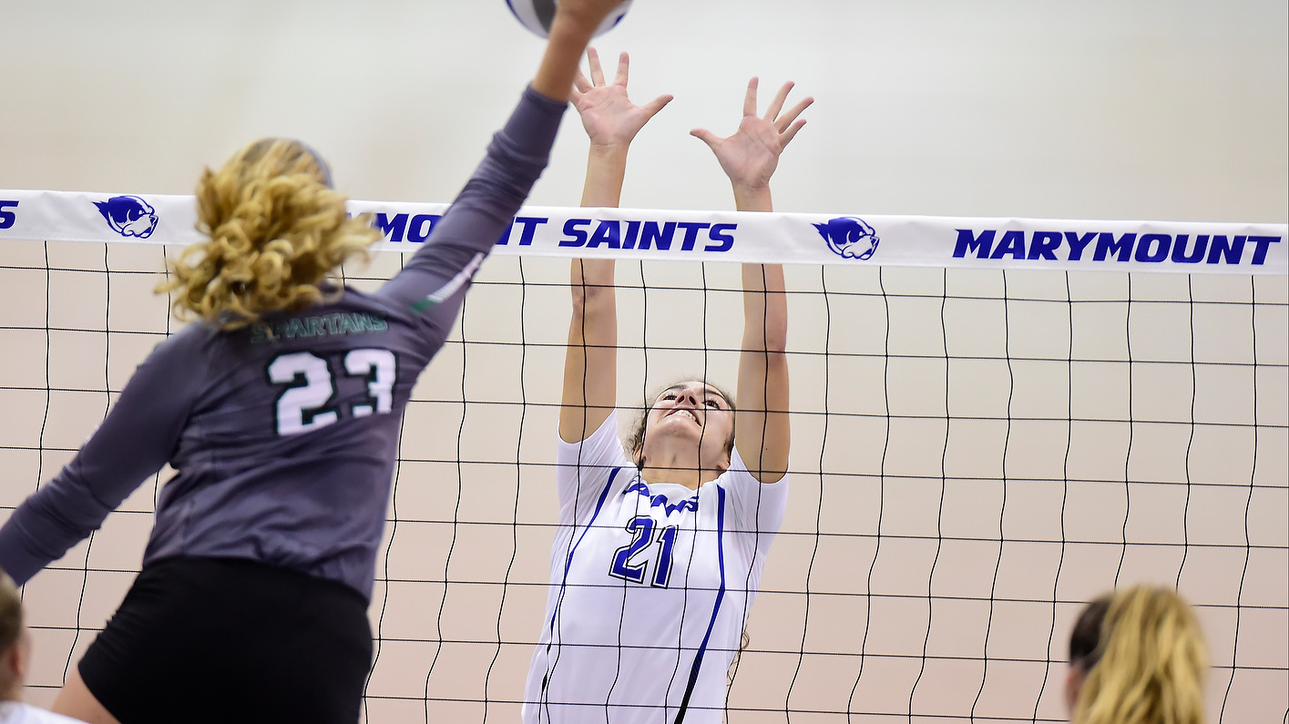 Saints Tally 20th Win For 12th Time In Program History, Top Bison In Straight Sets