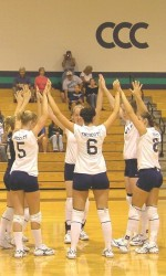 EC Volleyball, a Force on the Court