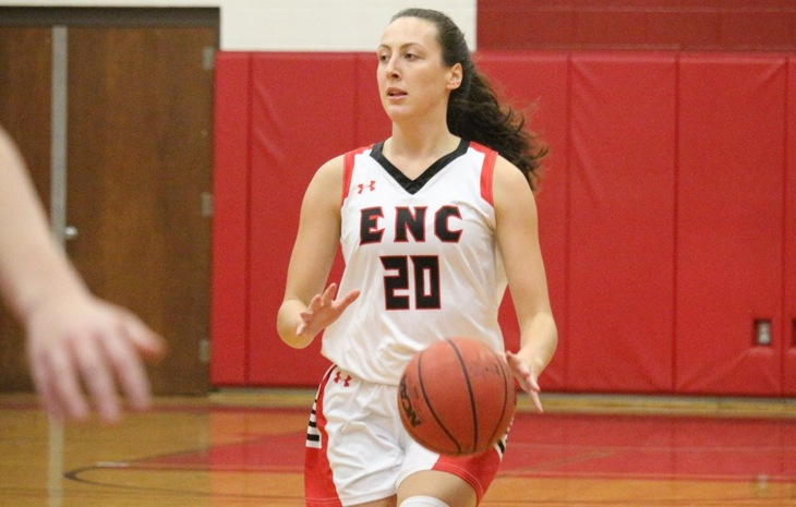 Women's Hoops Advances to NECC Semifinals with Narrow Win Over Dean