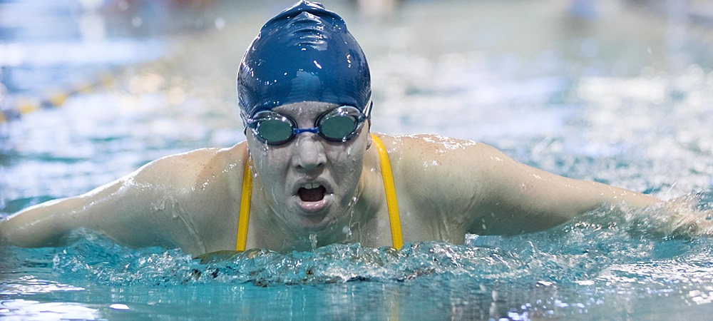Gallaudet women's swimming competes in non-conference double dual meet at York (Pa.)