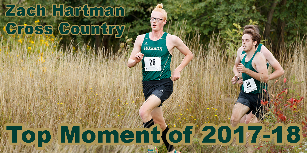 Top Moments of 2017-18: Zach Hartman Named to All-NAC Team