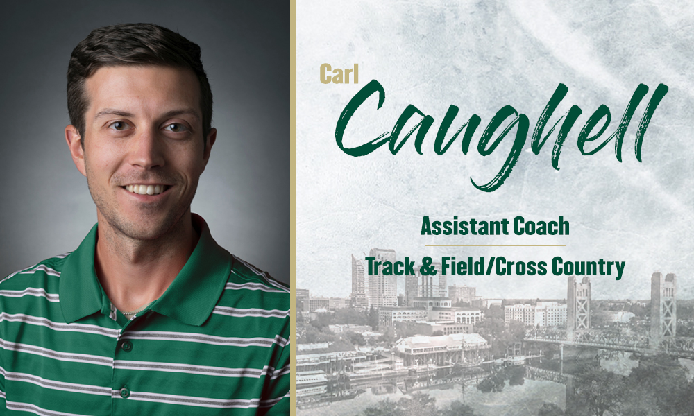 CARL CAUGHELL HIRED AS TRACK & FIELD ASSISTANT COACH