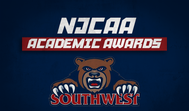 Southwest student-athletes receive NJCAA academic honors