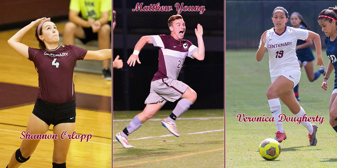 Three Named to Fall SCAC Sportsmanship Teams