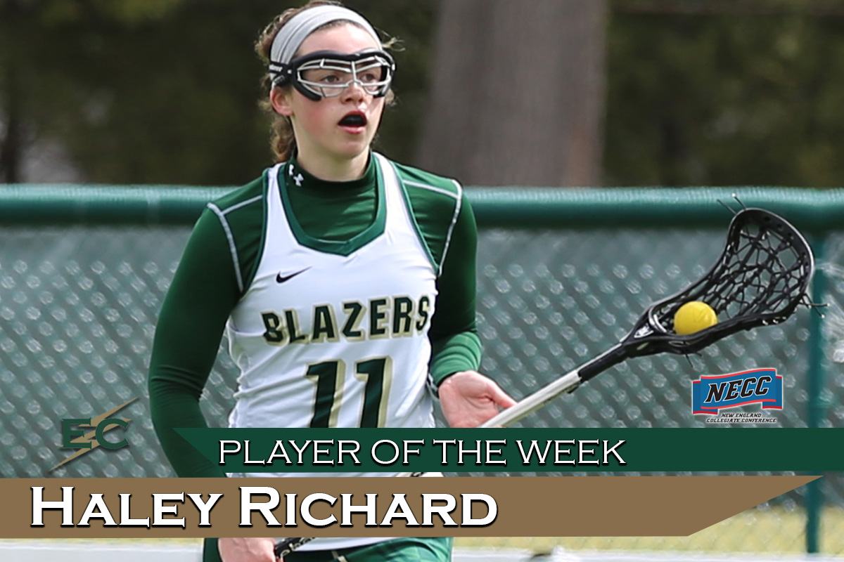 Richard Honored As NECC Player Of The Week