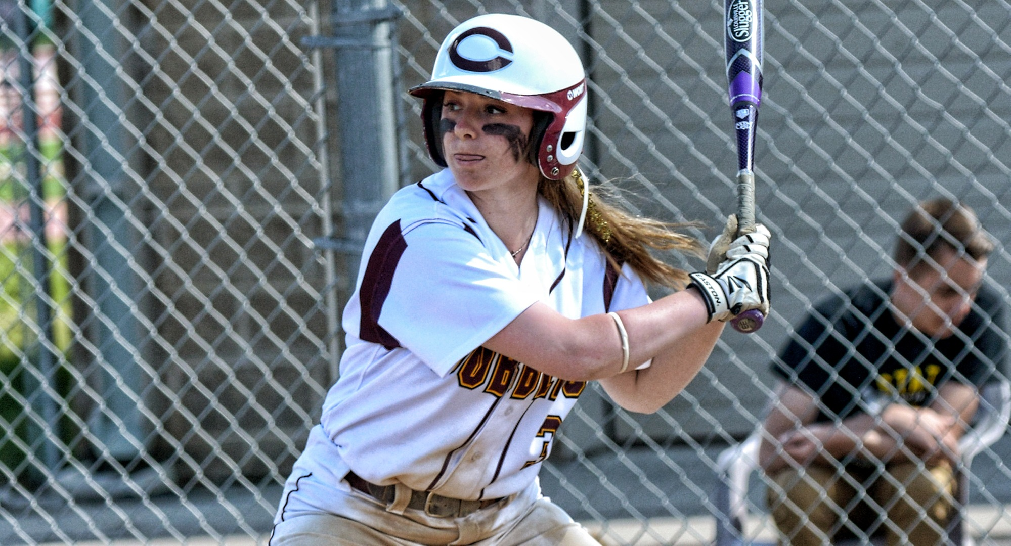 Senior Kayla Nack went 2-for-3 in the second game vs. Bethel. She was 4-for-12 in the four games over the weekend.