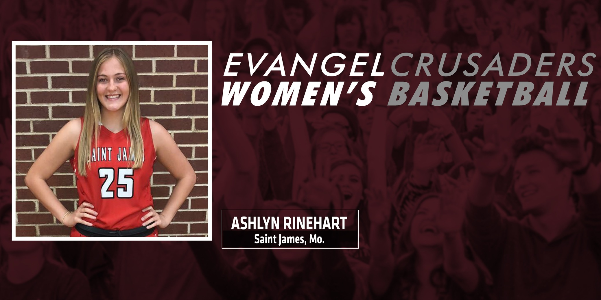 Evangel Women's Basketball Welcomes Ashlyn Rinehart for 2019-20
