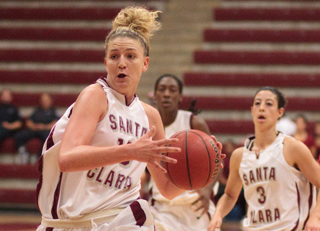 Senior Night, 'Pink Zone' This Week in SCU Women's Hoops