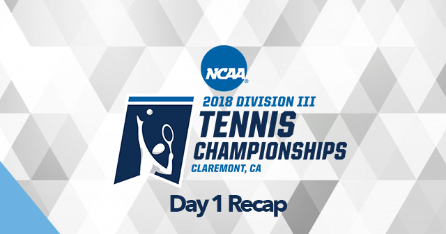 Day 1 Recap: NCAA Men's and Women's Tennis Individual Championships