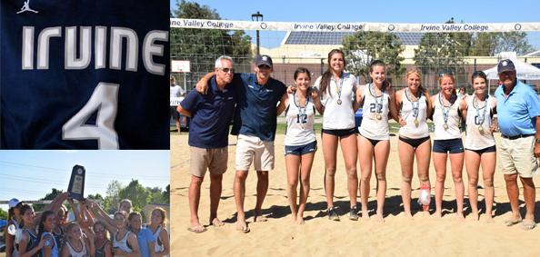No. 4 Story of the Year - Sand volleyball team sweeps state