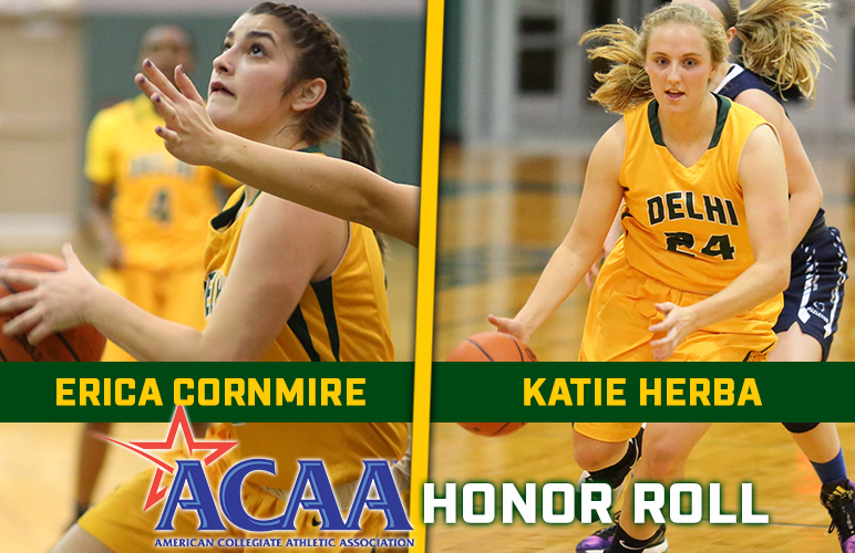 Cornmire, Herba Named to ACAA Honor Roll