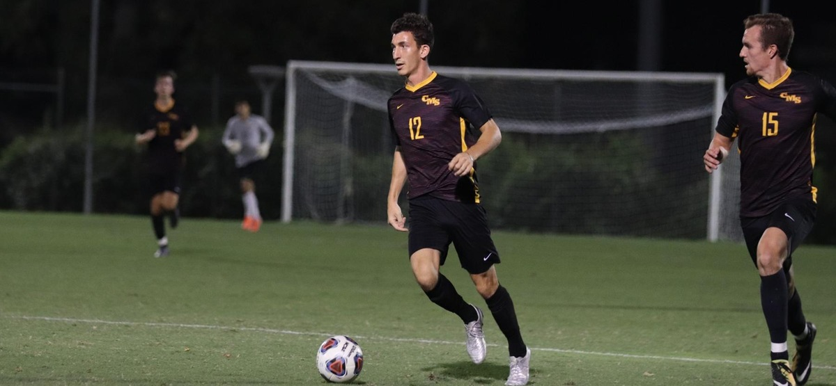 Henry Kraham was one of five goal scorers for the Stags in a 5-0 win at La Verne (photo by Daniel Addison)