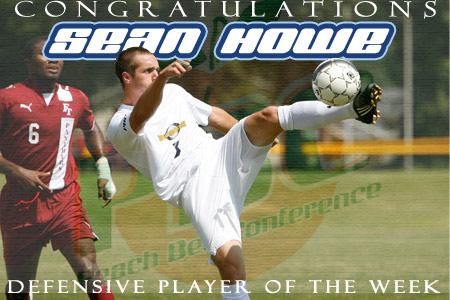 Howe earns PBC Player of the Week honors