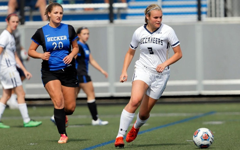 Taylor Tallies As Women's Soccer Drops 5-1 Decision At Eastern Nazarene