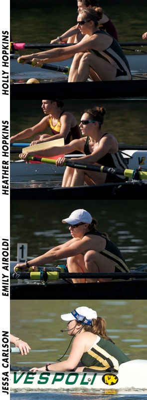 HOLLY HOPKINS NAMED FIRST TEAM ALL-REGION; FOUR ROWERS RECEIVE SCHOLAR-ATHLETE HONORS