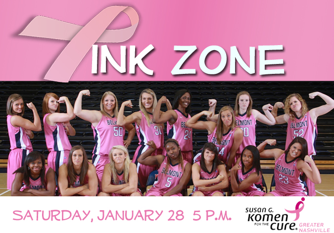 Women's Basketball Prepares to Enter the Pink Zone on Saturday