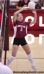 No. 24 Volleyball Wins Fourth Straight